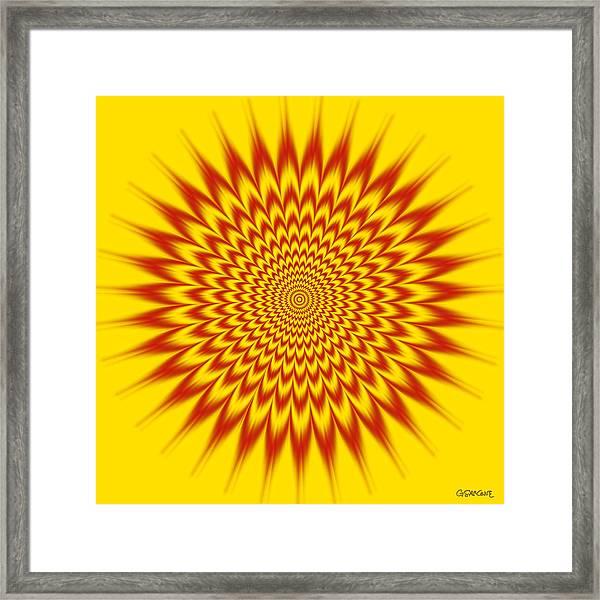 Hypnotic Vibes Framed Print