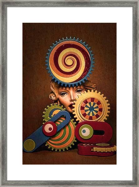 Hypnotic Woman 1 Framed Print