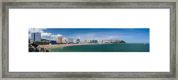 Hyundae Beach Framed Print