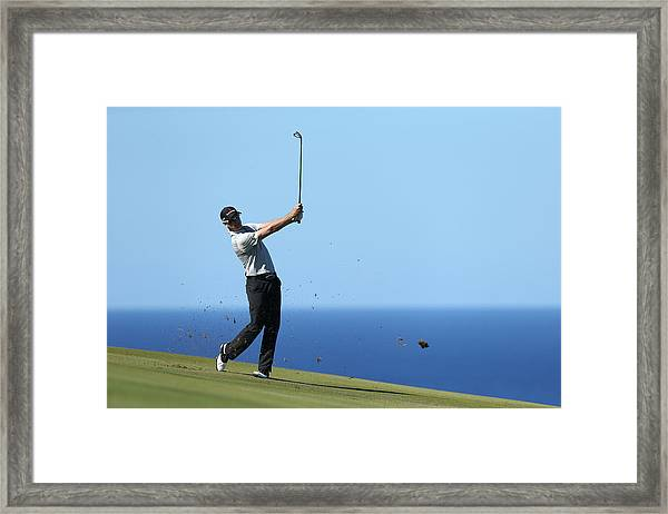 Hyundai Tournament Of Champions - Round Two Framed Print by Andy Lyons