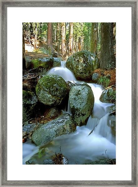 I 50 Falls Framed Print