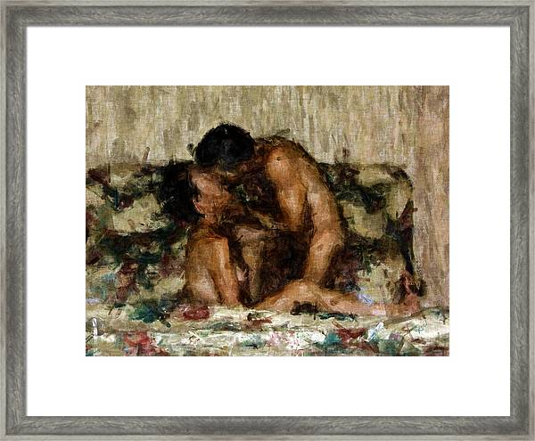 I Adore You Framed Print