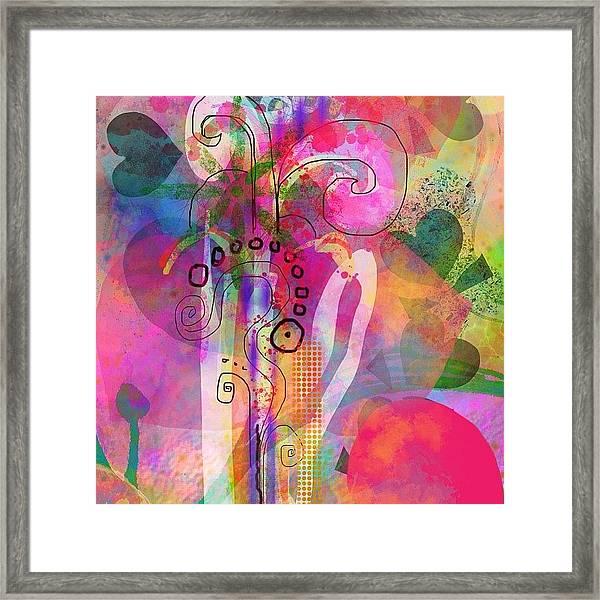 I Love Color, Does It Show Framed Print