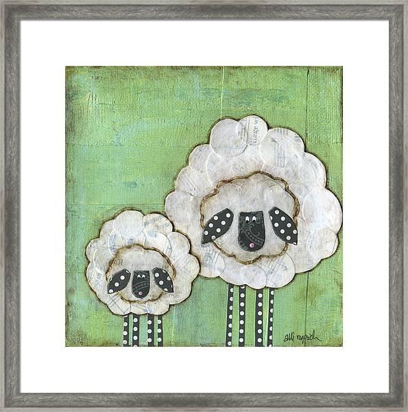 I Love Ewe So Much Framed Print