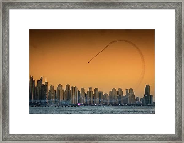 I Love Flying Planes Framed Print by Attila Szabo
