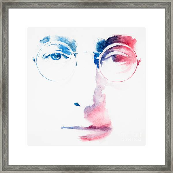 I May Be A Dreamer Framed Print