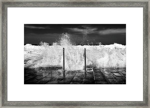I Need The Sea... Framed Print
