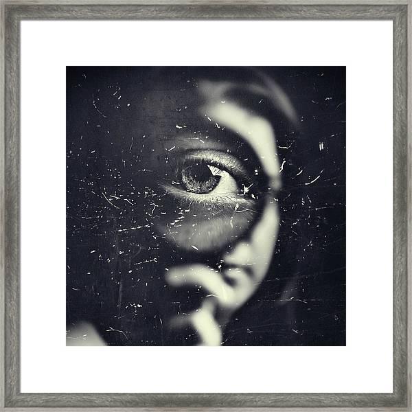 I Framed Print by Oren Hayman