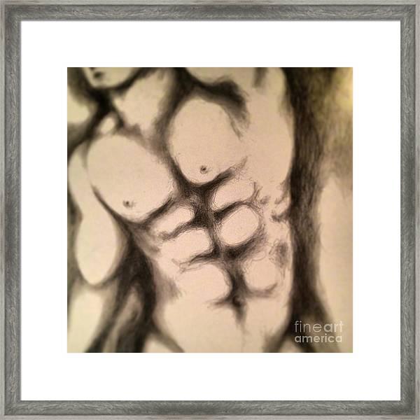I Put My Faith In A Man Framed Print