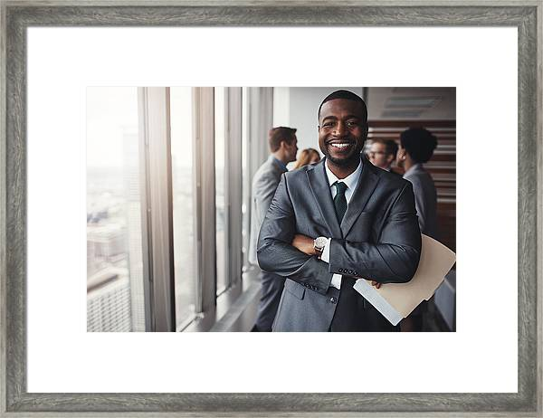 I Really Stood My Ground In That Meeting Framed Print by Gradyreese