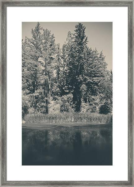 I Try Framed Print