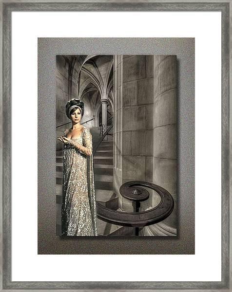 I Wonder As I Wander Framed Print