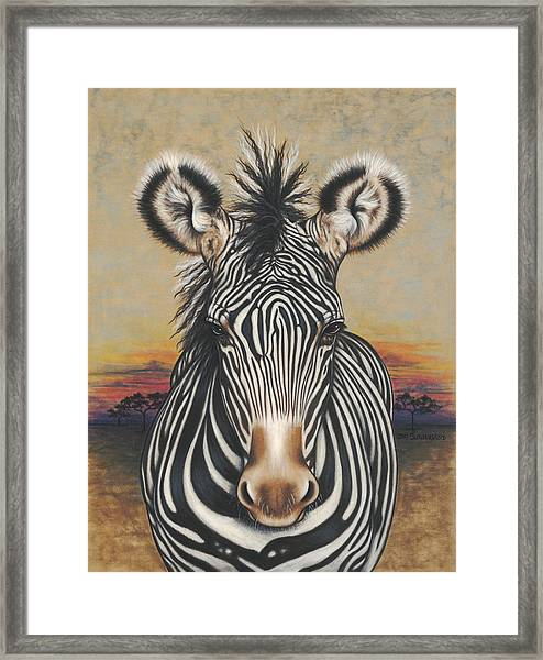 I Zee You Framed Print