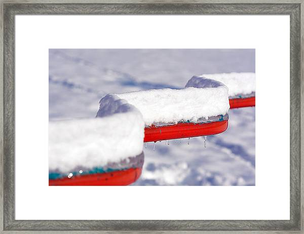 Ice And Snow-5621 Framed Print