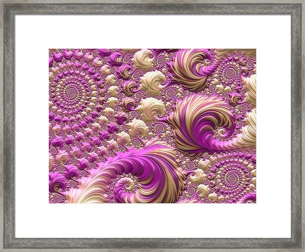 Ice Cream Social Framed Print