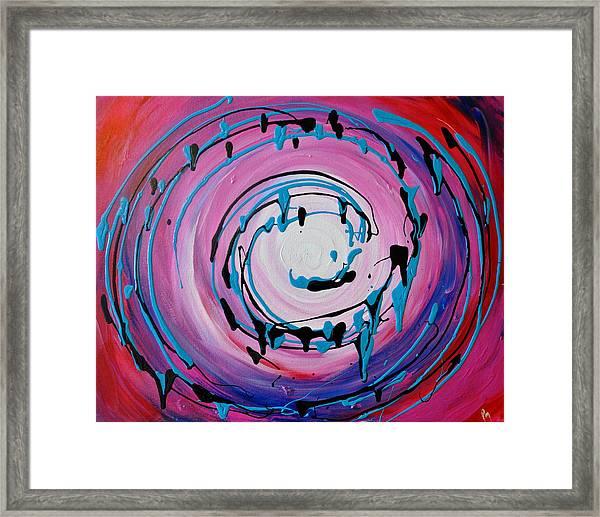 Ice Cream Swirl Framed Print