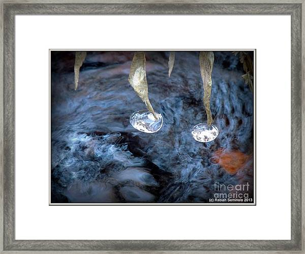 Ice Images Framed Print