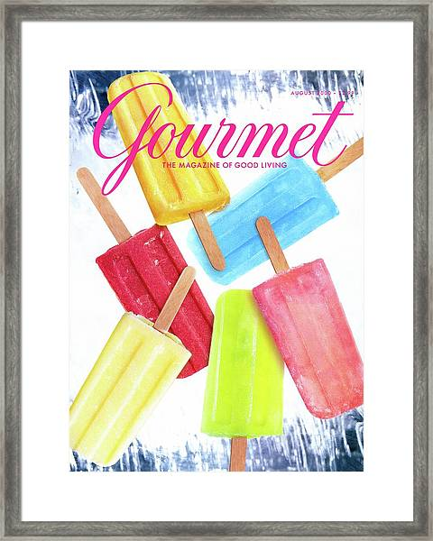 Ice Pops Framed Print