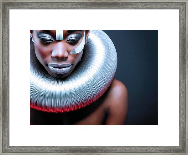 Ice Queen Framed Print by Simone Conti