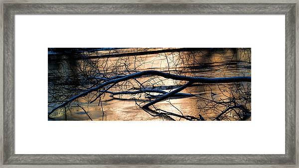 Ice Reflection  Leif Sohlman Framed Print