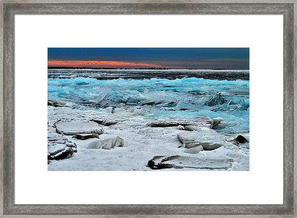 Ice Storm # 17 - Kingston - Canada Framed Print