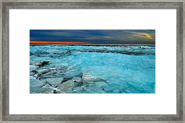 Ice Storm #5 - Kingston - Canada Framed Print