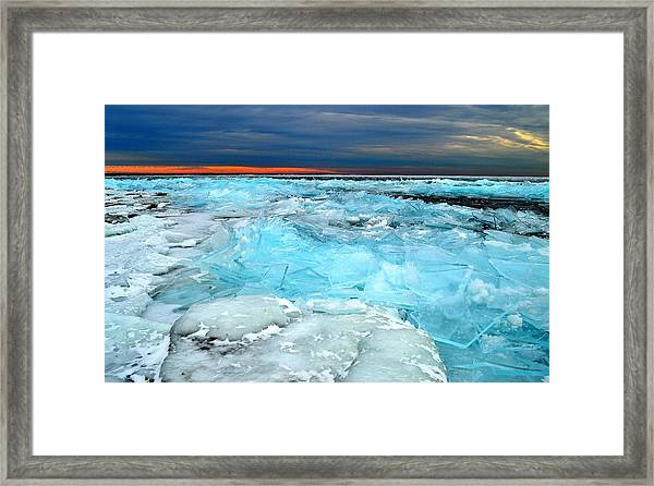 Ice Storm # 9 - Kingston - Canada Framed Print