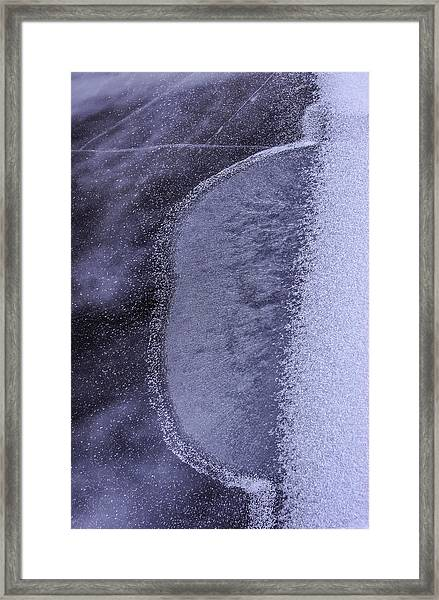 Ice World Framed Print