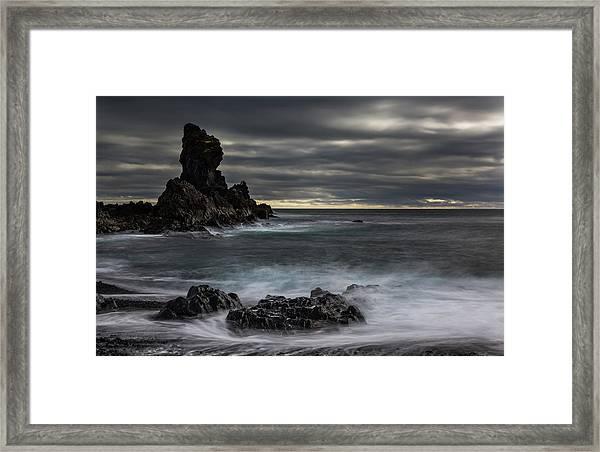 Iceland, Dritvik Framed Print by Jaynes Gallery
