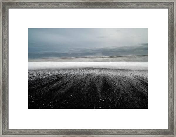 Iceland Vik Framed Print by Ronny Olsson