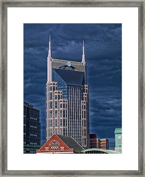 Icons Of Nashville Framed Print