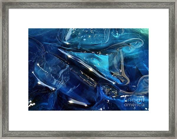 Icy Beverage Framed Print