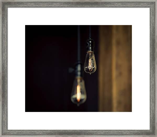 Ideas Framed Print