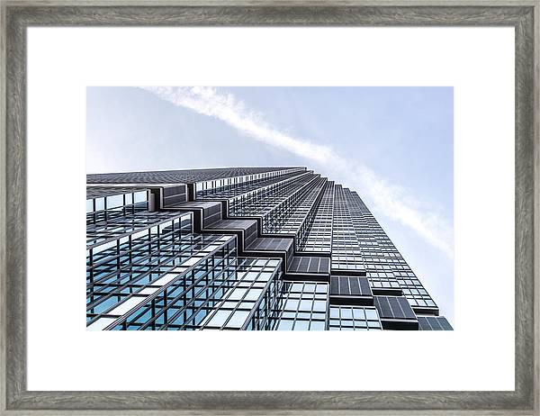 Ids Center In Minneapolis Framed Print