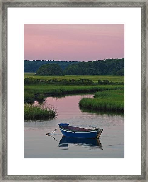 Idyllic Cape Cod Framed Print