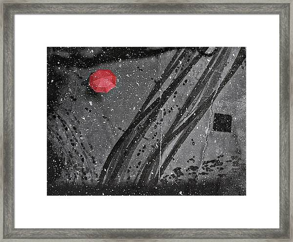 If On A Winter's Day Framed Print