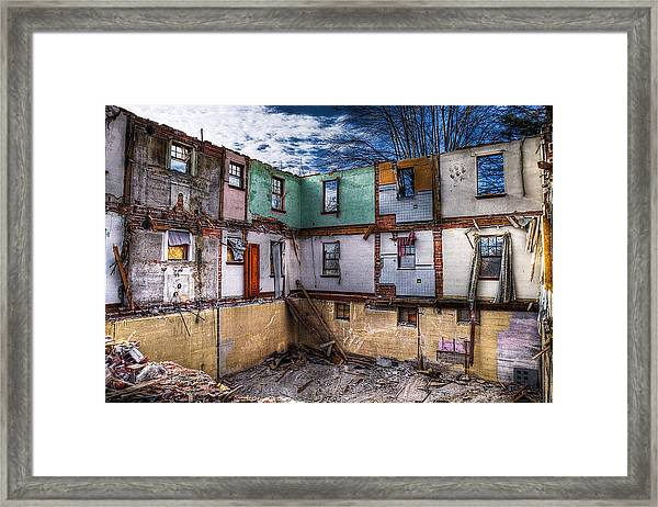 If The Walls Could Talk   Framed Print