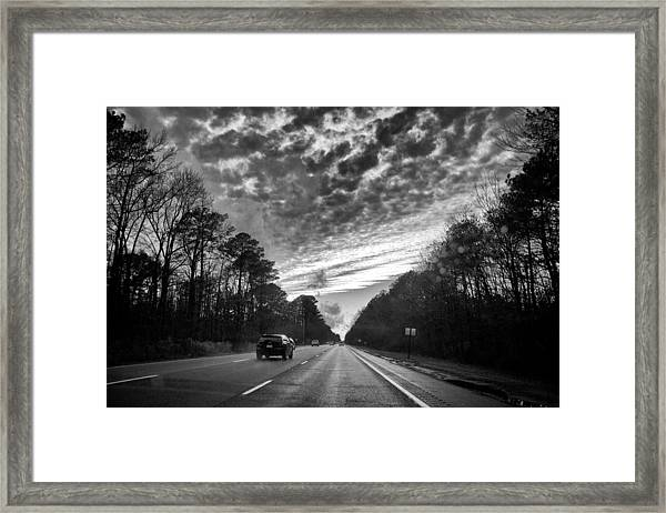 If You Cross Your Eyes Framed Print