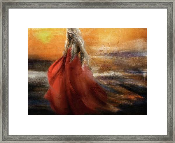 If You Were The Sun, I Would Just Fade Into You... Framed Print