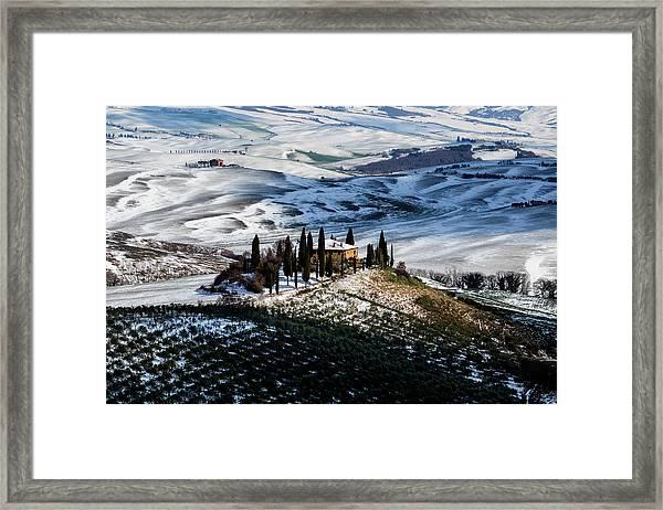 Il Belvedere Framed Print by Massimo Della Latta