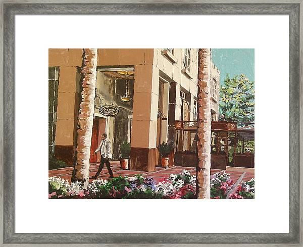 Il Fornaio Framed Print by Paul Guyer