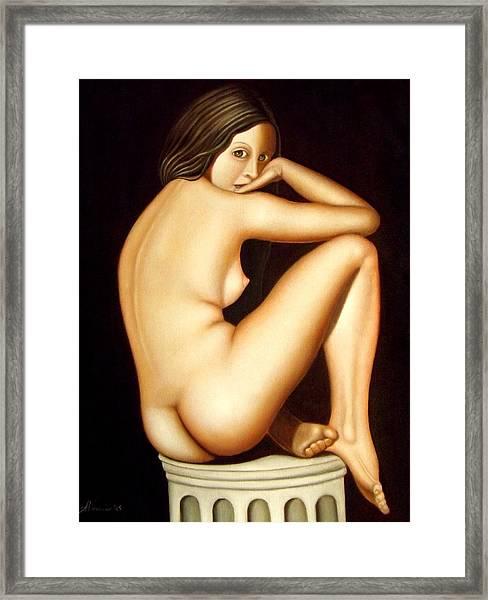 Il Giardino Segreto - The Secret Garden Framed Print by Alessandra Veccia
