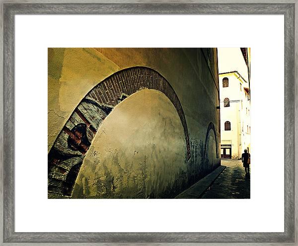 Il Muro  Framed Print
