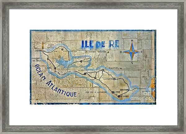 Ile De Re Framed Print