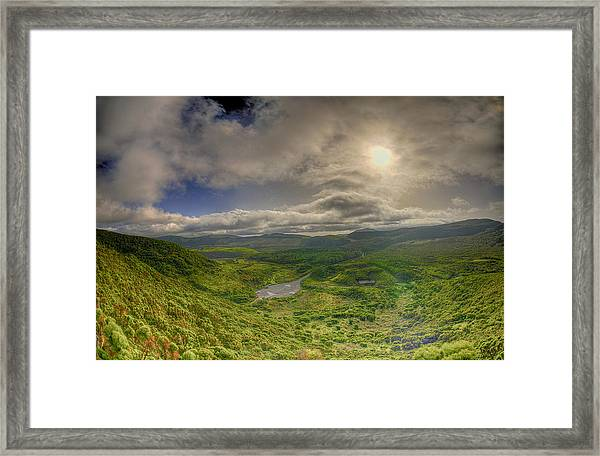 Ilha Terceira @ Azores Framed Print