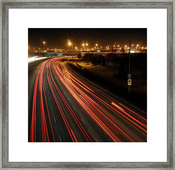 Illegal Exit Framed Print