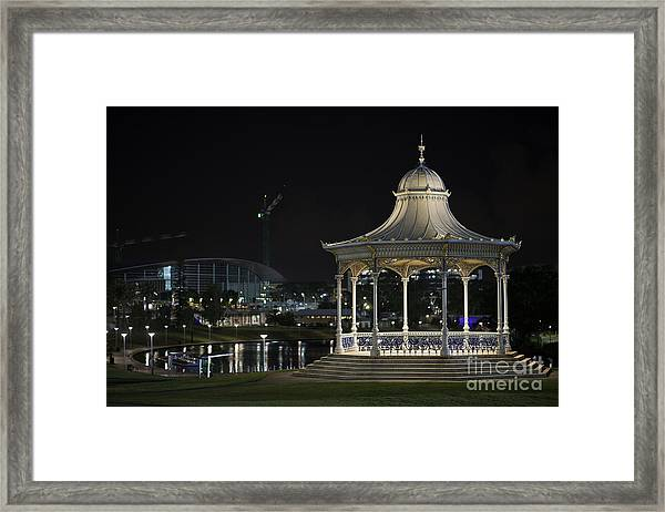 Illuminated Elegance Framed Print