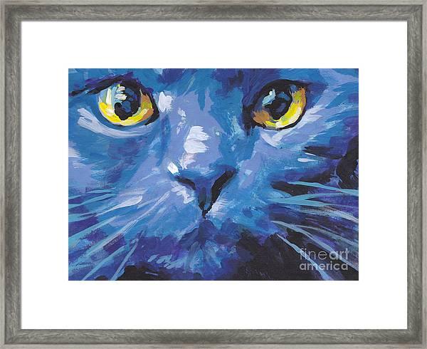 I'm Blue Framed Print