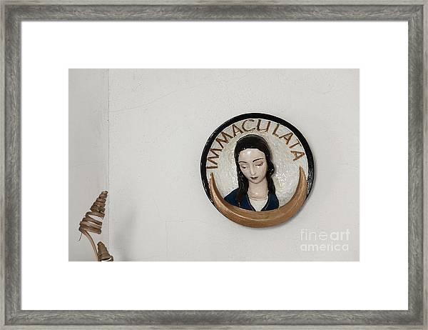 Immaculata Framed Print by Agnieszka Kubica
