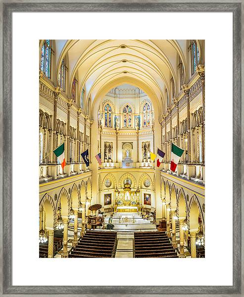Immaculate Conception Jesuit Church - New Orleans Framed Print